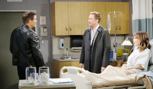 rex and rafe with kate hospitalized
