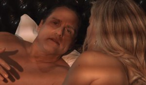 Sonny and Carly in bed