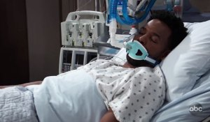 Andre Maddox unconscious on General Hospital