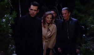 JT has made his way to the cabin on Young and the Restless