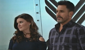Bill and Katie talk about Caroline on Bold and the Beautiul