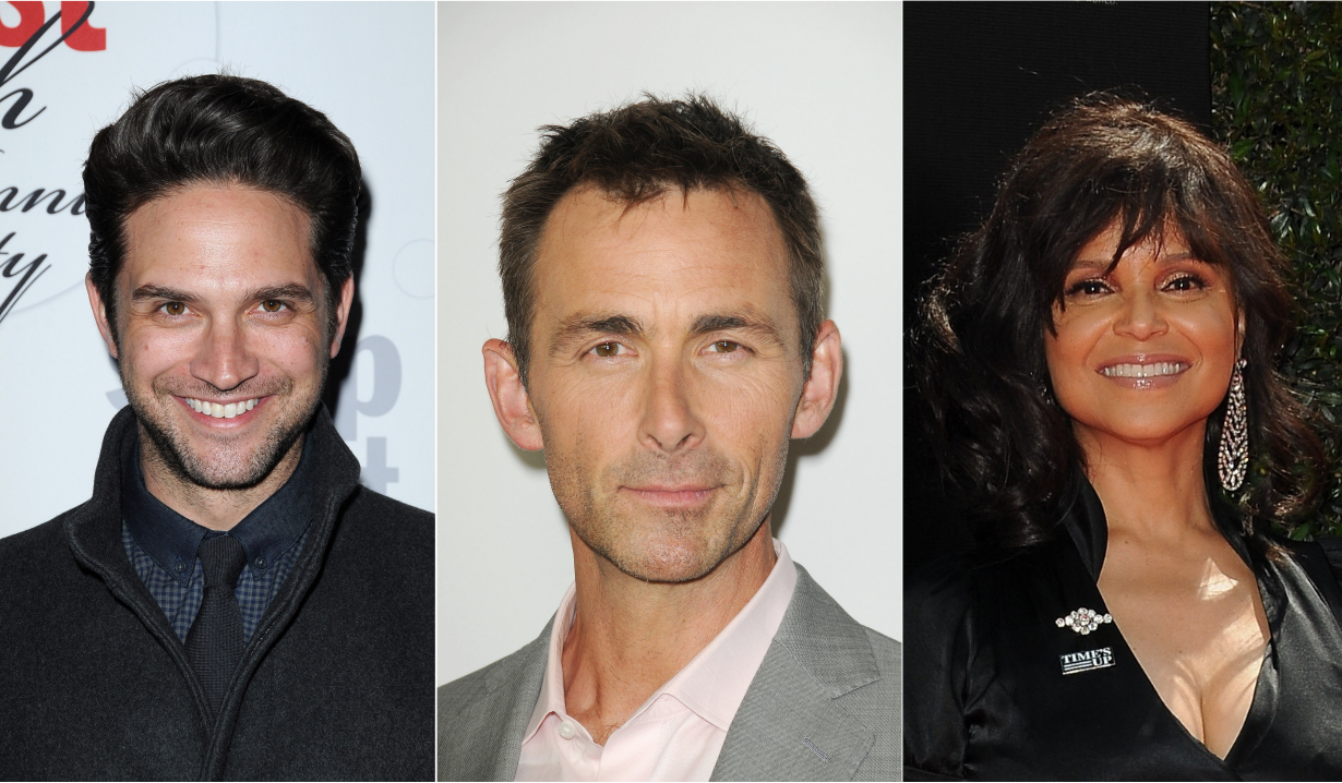 Brandon Barash James Patrick Stuart Victoria Rowell Soaps news days of our lives general hospital the young and the restless the bold and the beautiful