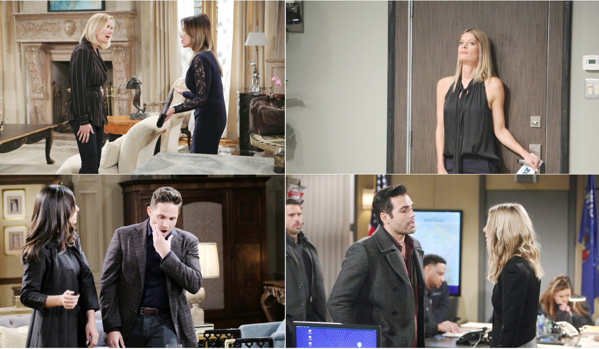 3-24-19 spoilers for bold and beautiful days of our lives general hospital young and restless