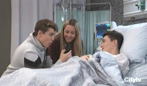 Cameron, Joss and Oscar talk about their trip General Hospital
