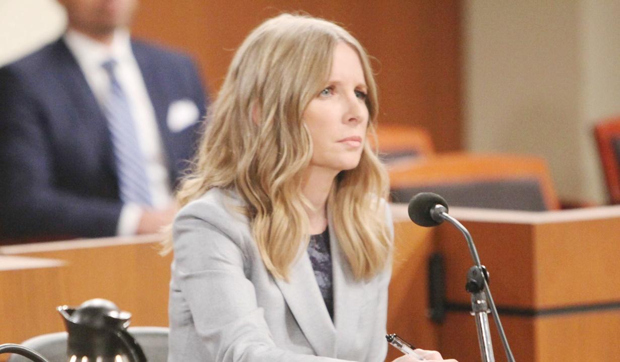 Christine in court