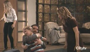Dante is welcomed home by his family General Hospital