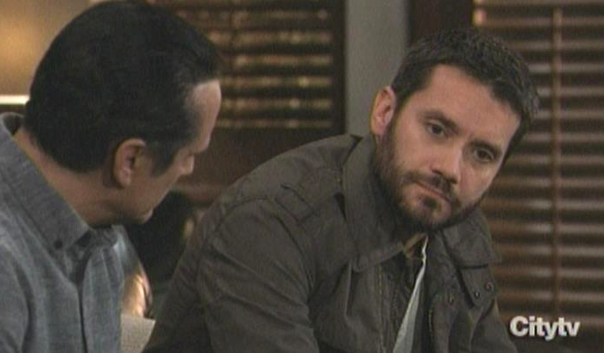 Dante tells Sonny about being undercover General Hospital