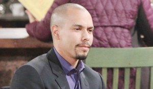 Devon talks to Elena on Young and the Restless