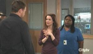 Liz tells Drew about Franco GH