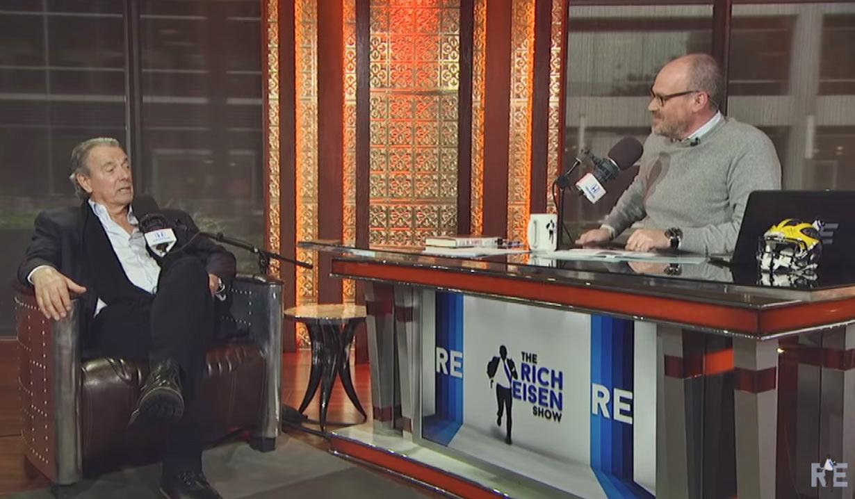 Eric Braeden talks with Rich Eisen