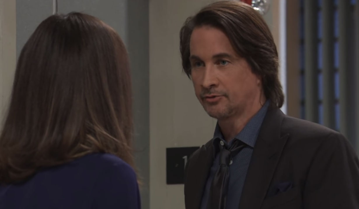 Finn and Anna discuss her memories GH