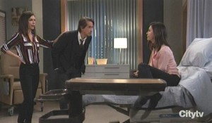 Finn deals with Alex and Anna General Hospital