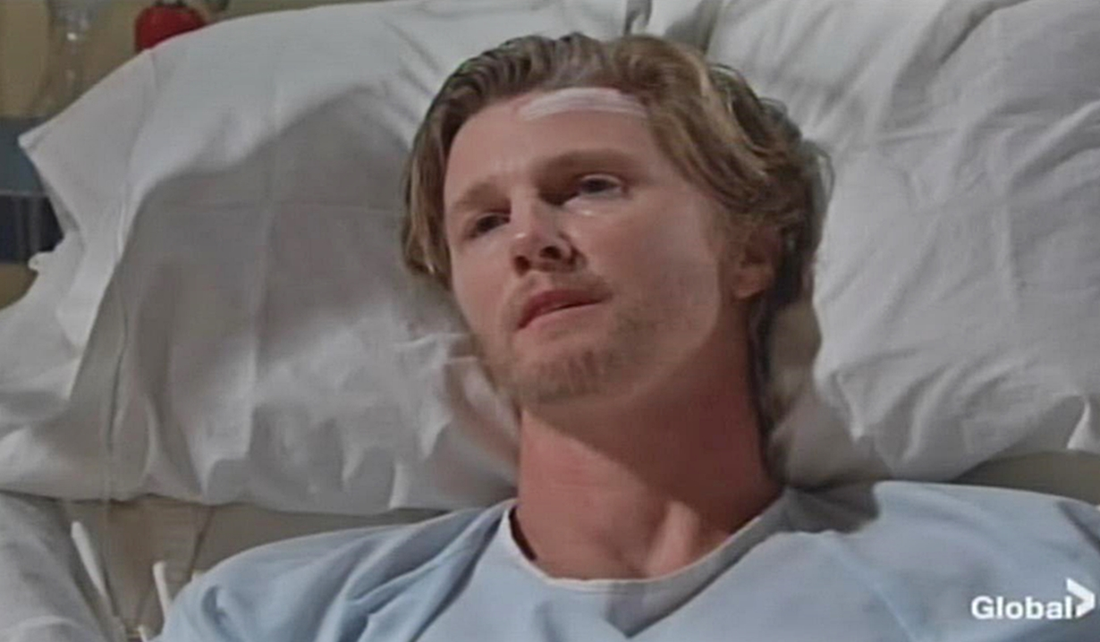 JT in hospital on Young and the Restless