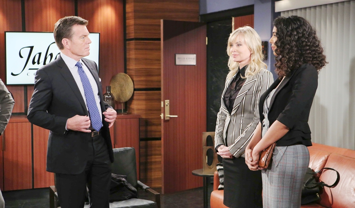 Jack Ashley Kerry Jabot on Young and Restless