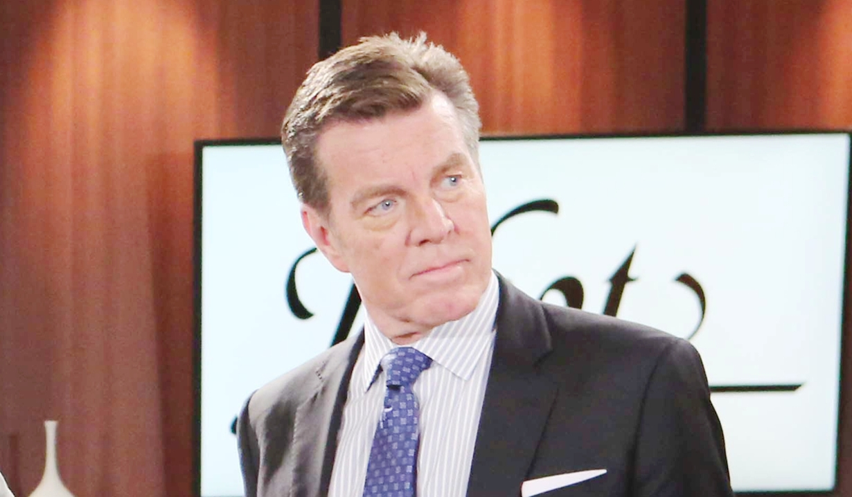 Jack at Jabot on Young and Restless