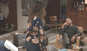 Kristina and Shiloh discuss her position GH