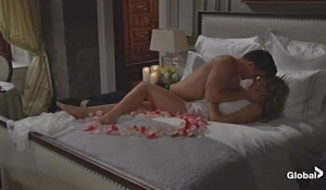Kyle Summer making love on Young and the Restless