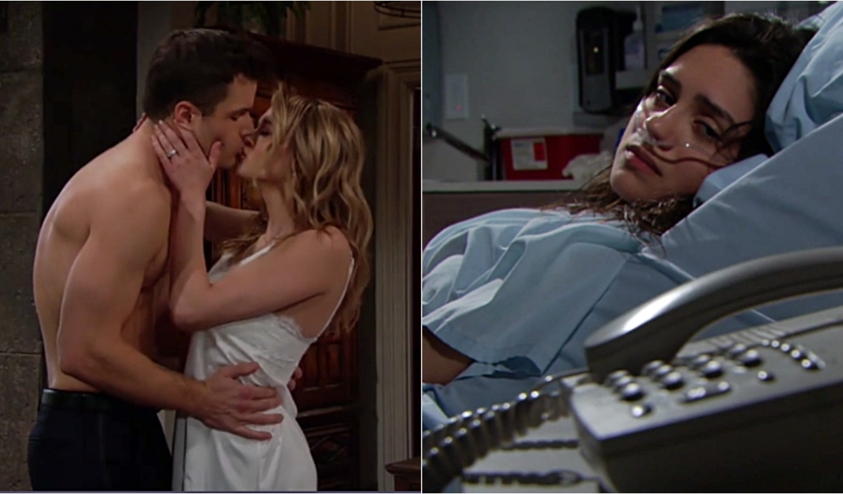 Kyle and Summer have sex while Lola's alone on Young and the Restless