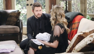 Liam and Hope talk on Bold and the Beautiful
