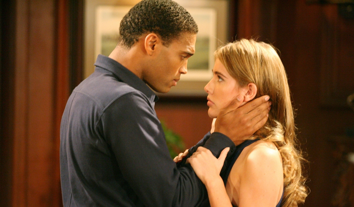 Steffy Forrester and Marcus Walton on B&B