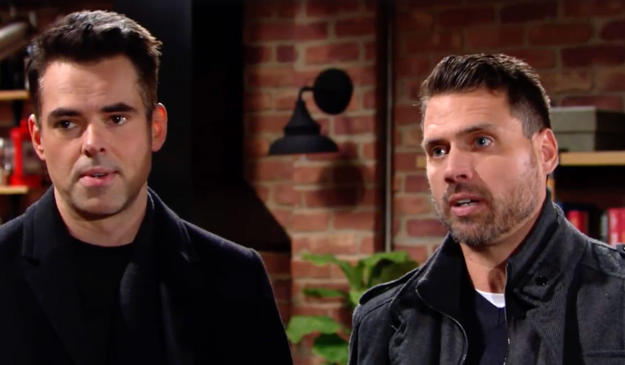 Nick and Billy set a trap for JT on The Young and the Restless