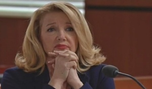Nikki watches court proceedings