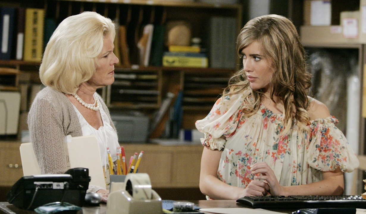 Pam Douglas and Steffy Forrester on B&B