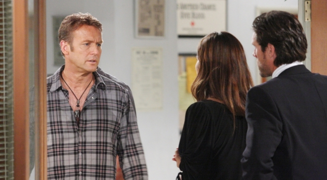 Paul, Victoria and Nick on Young and the Restless