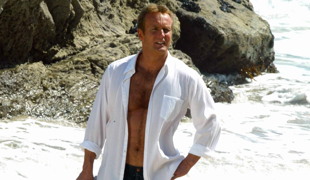 Paul on the beach on Young and the Restless