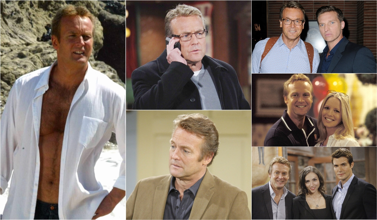 collage of paul williams on young and the Restless