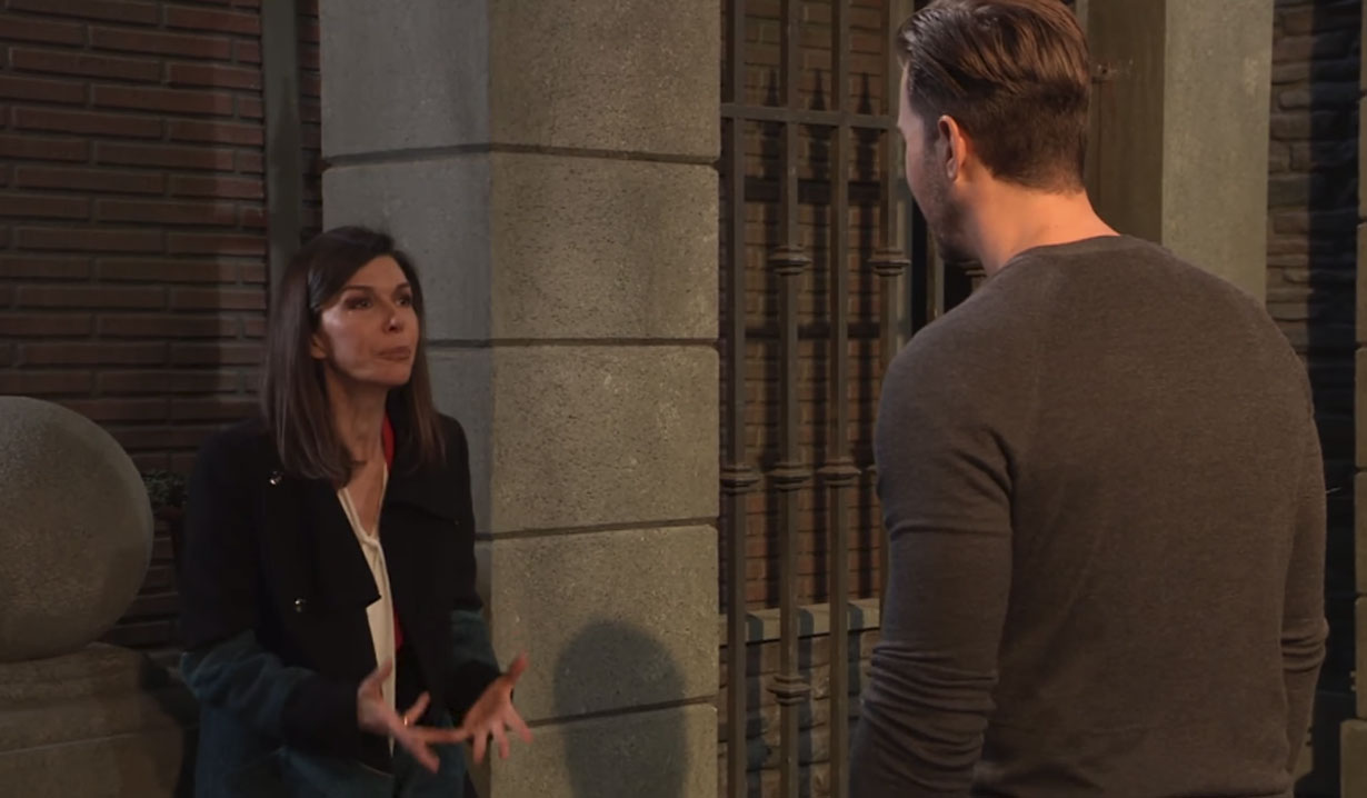 Anna and Peter disucss their relationship General Hospital