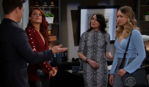 Quinn apologizes to Sally on Bold and Beautiful