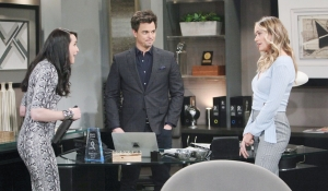 Quinn sees Flo on Bold and Beautiful
