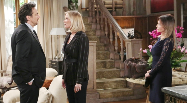 Ridge intervenes in Brooke and Taylor's argument on Bold and Beautiful