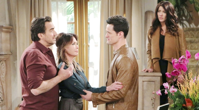 Thomas' sad arrival with Ridge, Taylor, Steffy on Bold and the Beautiful