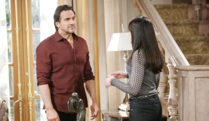 Ridge talks with Quinn on Bold and the Beautiful