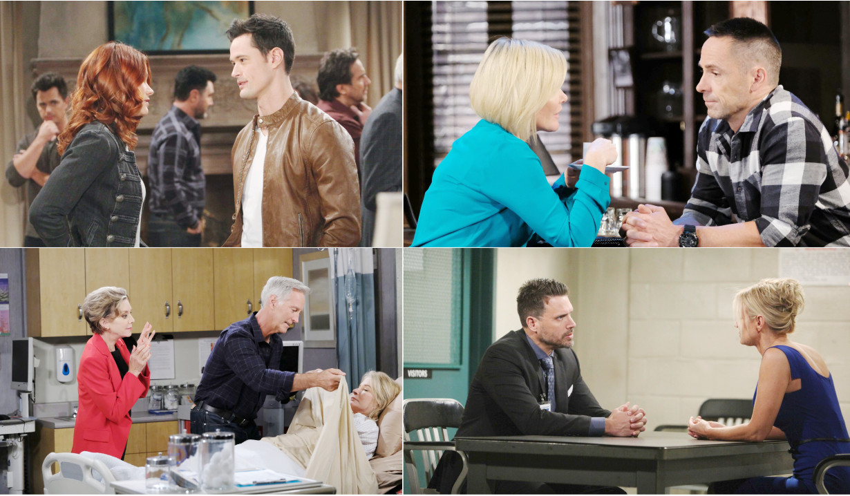3-16-19 spoilers for bold and beautiful days of our lives general hospital young and restless