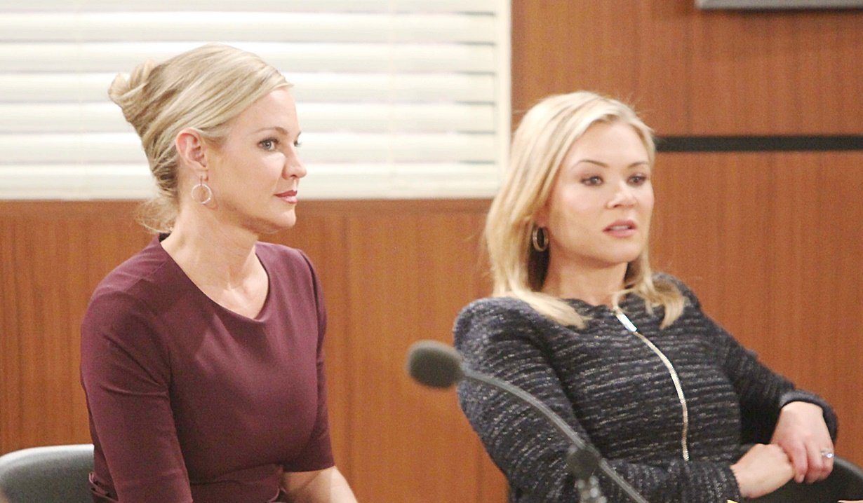 Sharon and Brittany in court