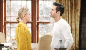 Sharon and Rey on young and the restless