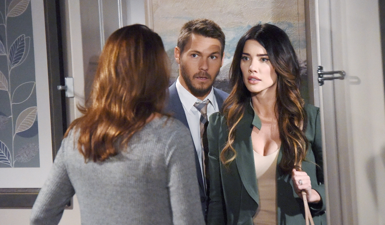 Steffy and Liam face Sheila Carter on B&B