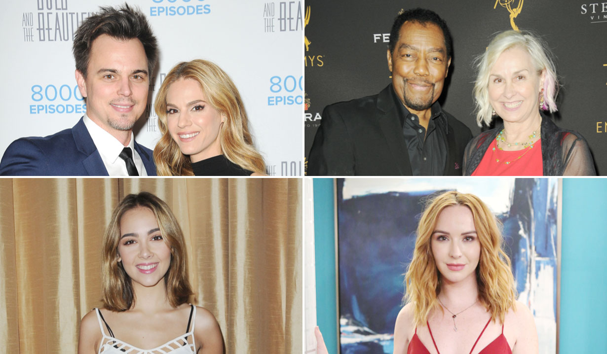 bold and beautiful days of our lives general hospital young and restless Stars St Patrick's Day