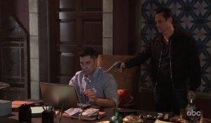 Sonny surprises Raj on General Hospital