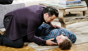 Sonny hovers over Will on Days of our Lives