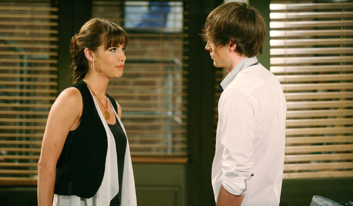 Steffy Forrester and Oliver Jones on B&B