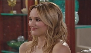 Summer smiles at wedding on Young and the Restless