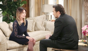 Taylor and Ridge discuss family matters on Bold and the Beautiful