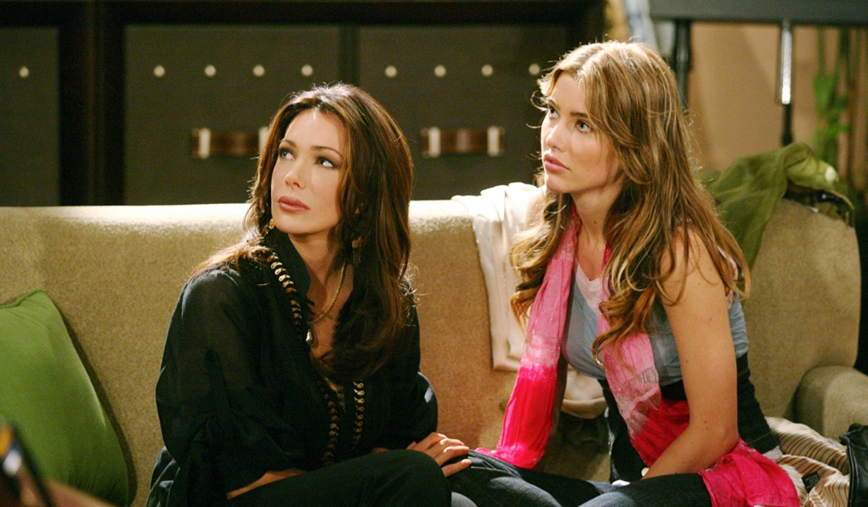 Taylor Hayes and Steffy Forrester on B&B