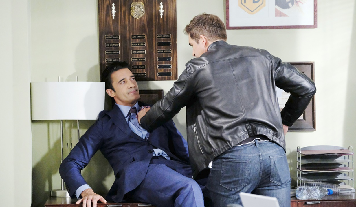 rafe gets physical with ted
