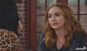 Mariah urges Tessa to sing again on Young and the Restless