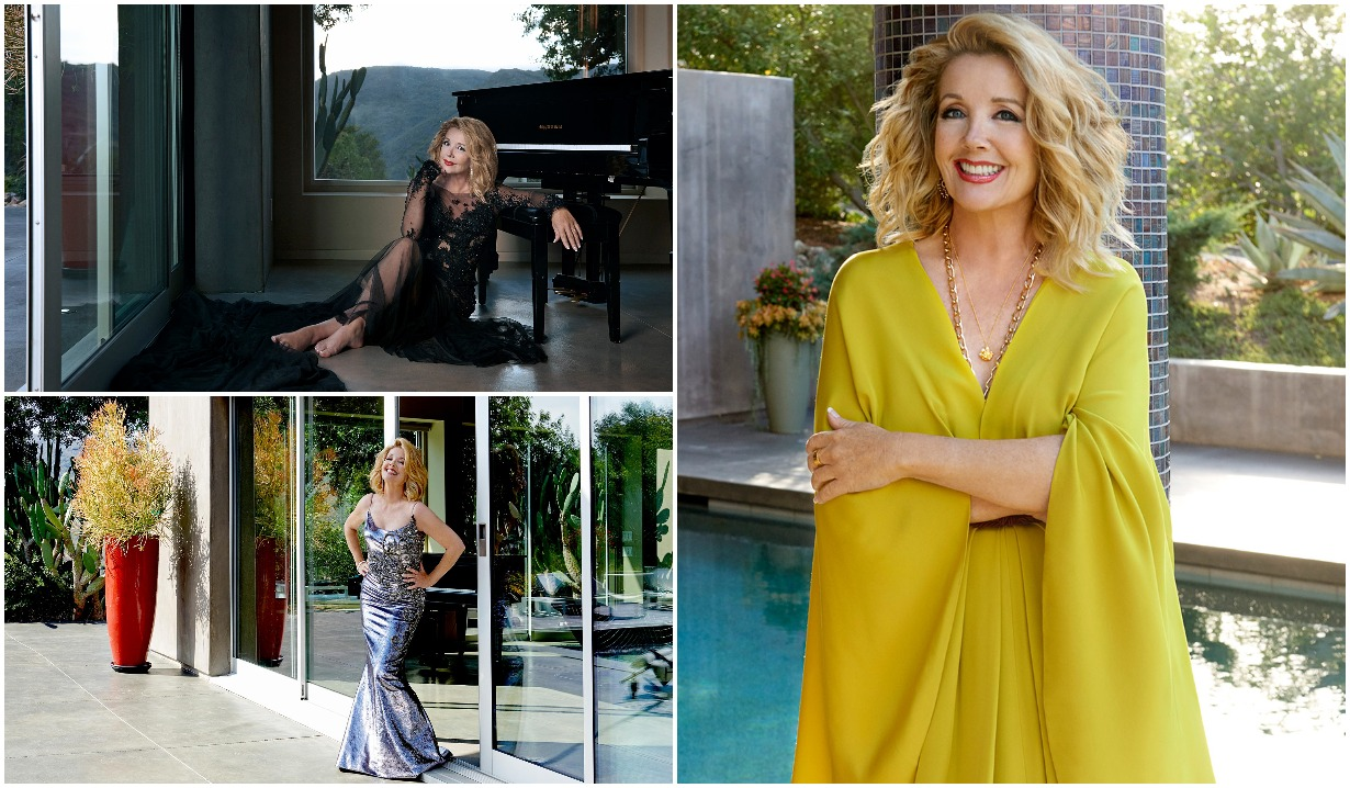 Melody Scott Thomas from Young and the Restless on CBS Watch! magazine